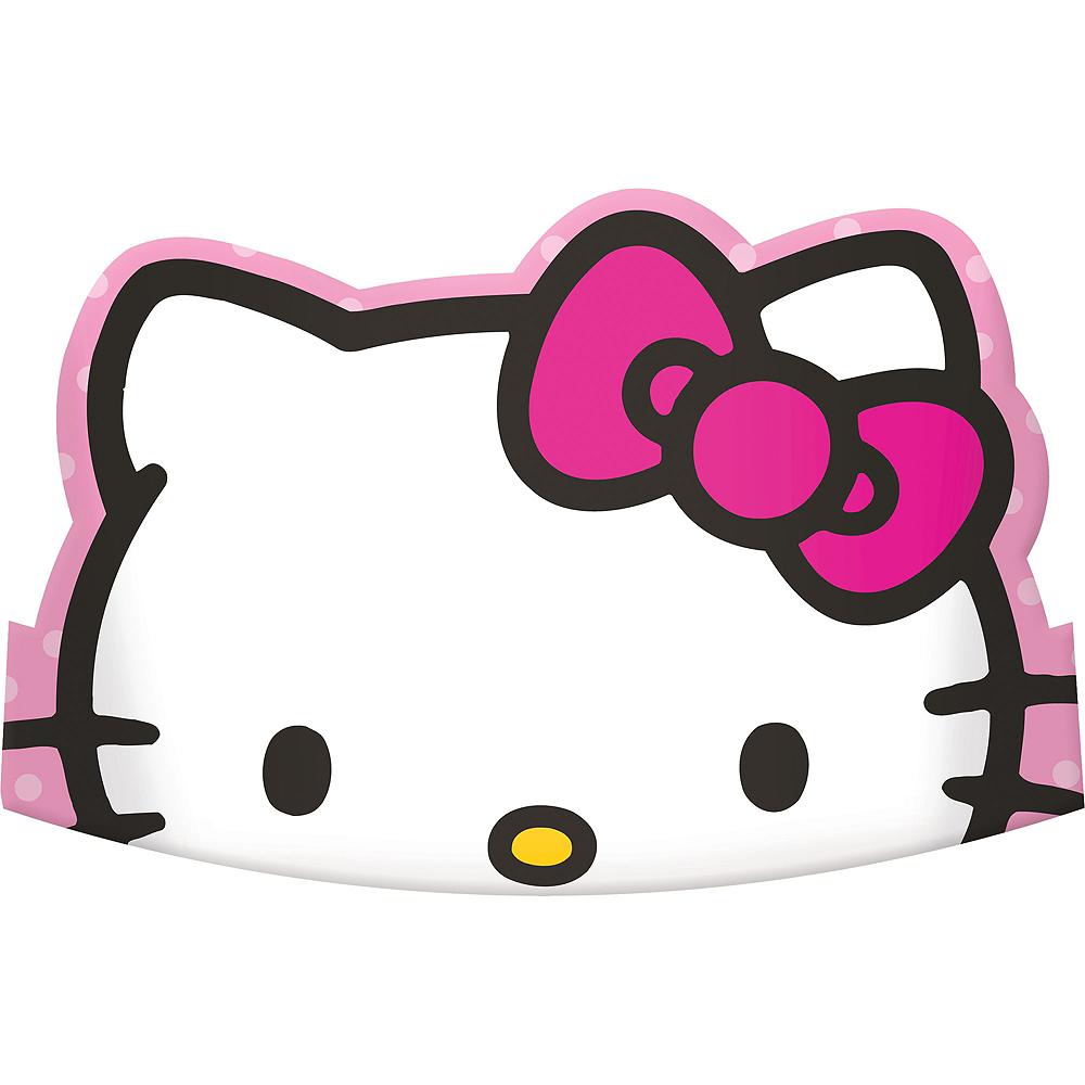 Rainbow Hello Kitty Tiaras 8ct Image #1