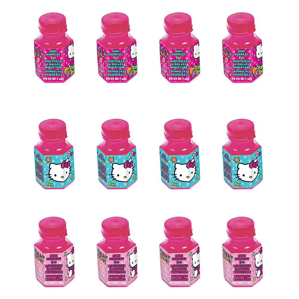 Rainbow Hello Kitty Mini Bubbles 12ct Image #1