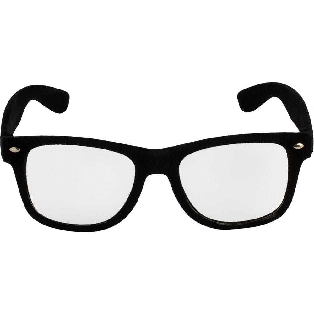 Black Nerd Glasses Image #1