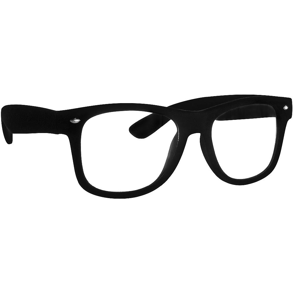 Black Nerd Glasses Image #2