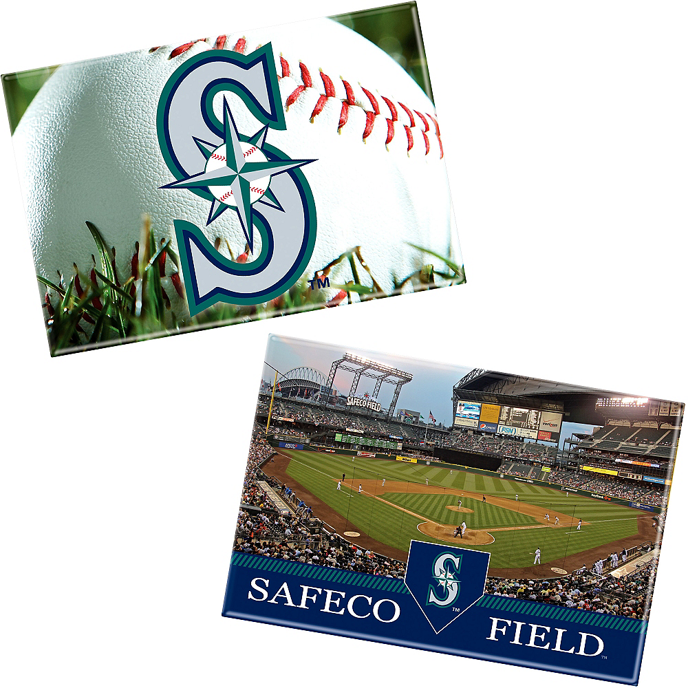 Seattle Mariners Magnets 2ct Image #1
