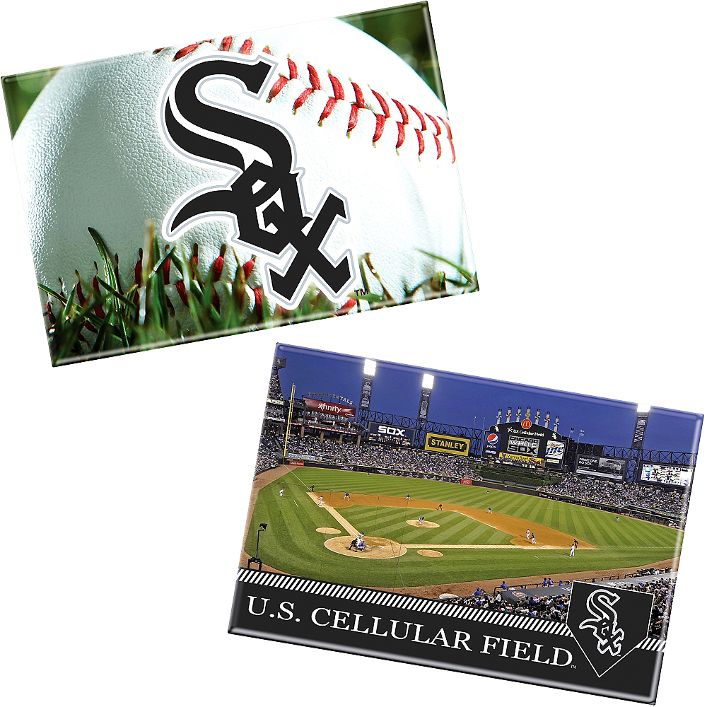 Chicago White Sox Magnets 2ct Image #1