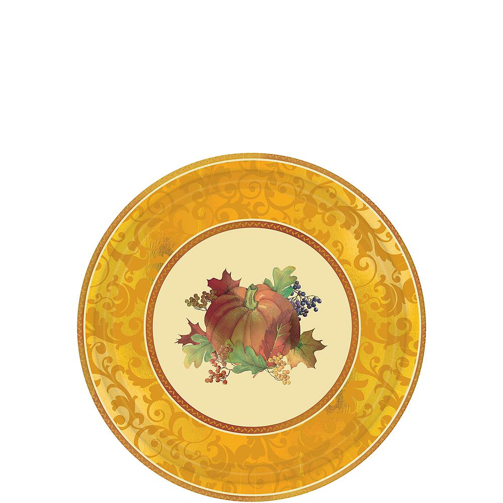 Bountiful Holiday Dessert Plates 8ct Image #1