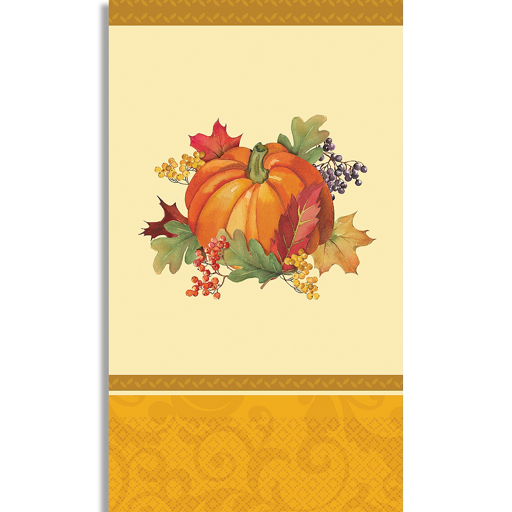 Bountiful Holiday Guest Towels 16ct Image #1
