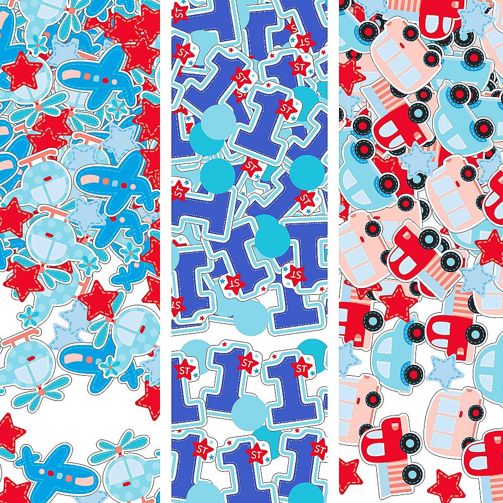 All Aboard 1st Birthday Confetti Image #1