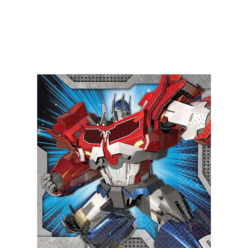 Transformers Beverage Napkins 16ct Image #1