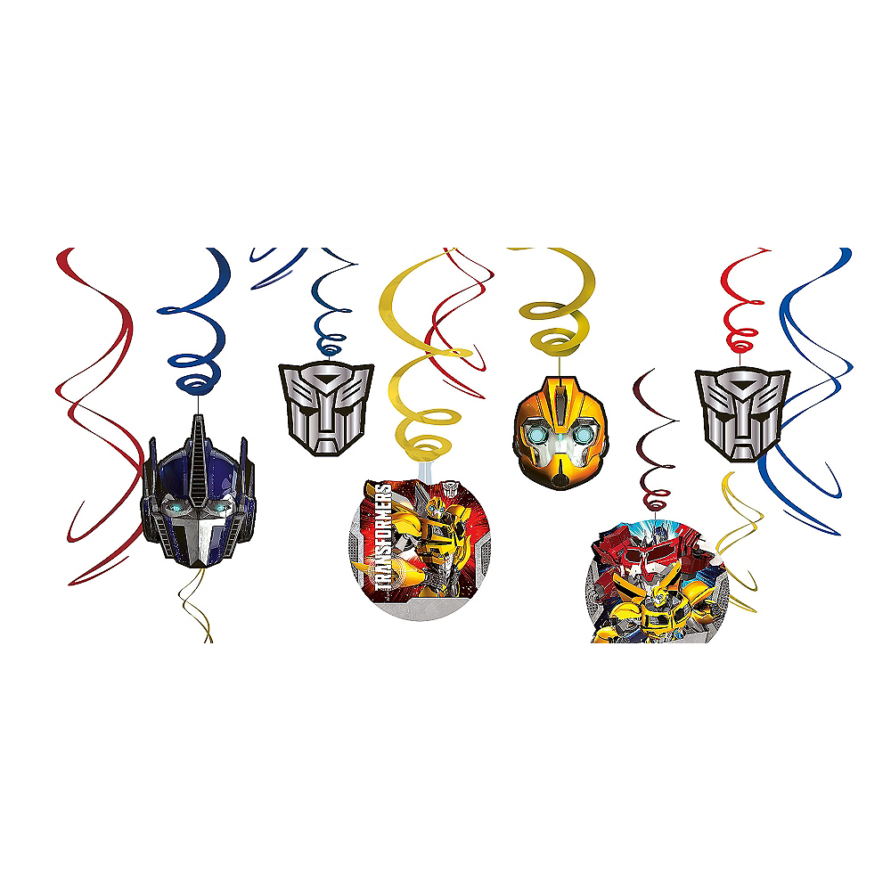 Transformers Swirl Decorations 12ct Image #1