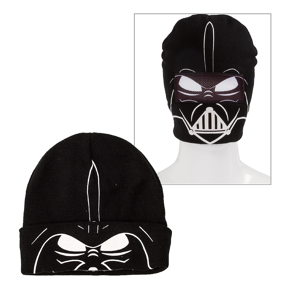 Darth Vader Roll-Down Mask Beanie - Star Wars Image #1