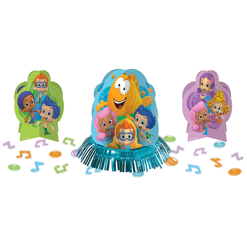 Bubble Guppies Table Decorating Kit 23pc | Party City Canada