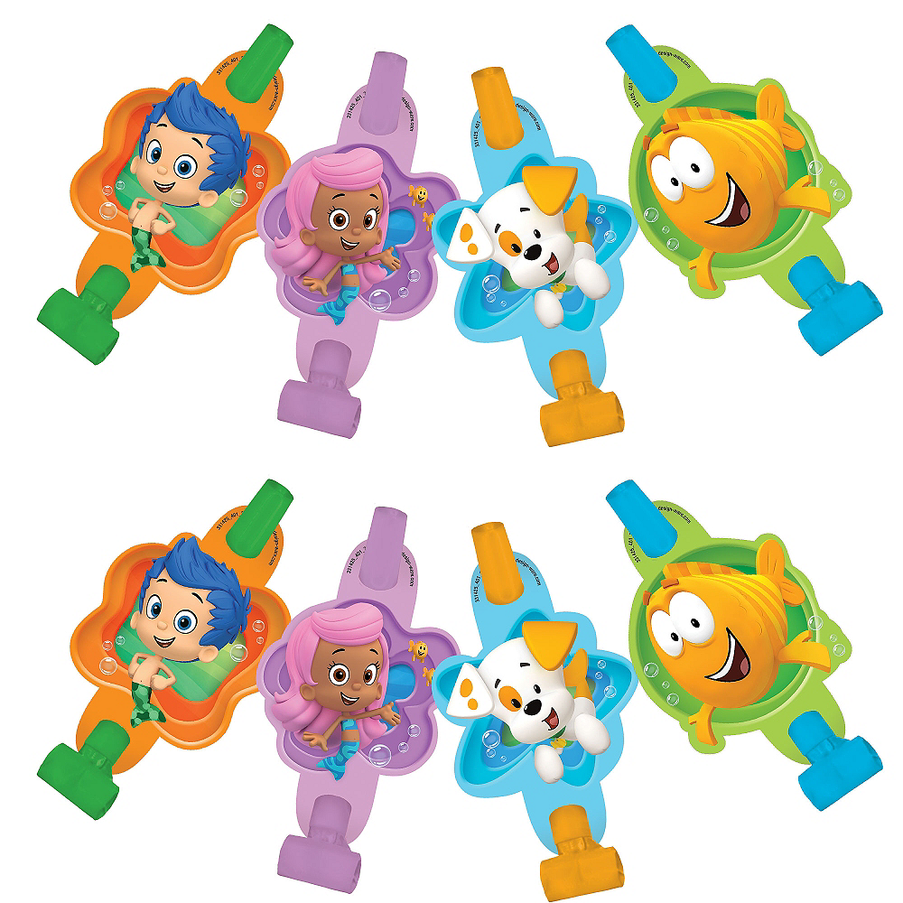 Bubble Guppies Blowouts 8ct | Party City Canada