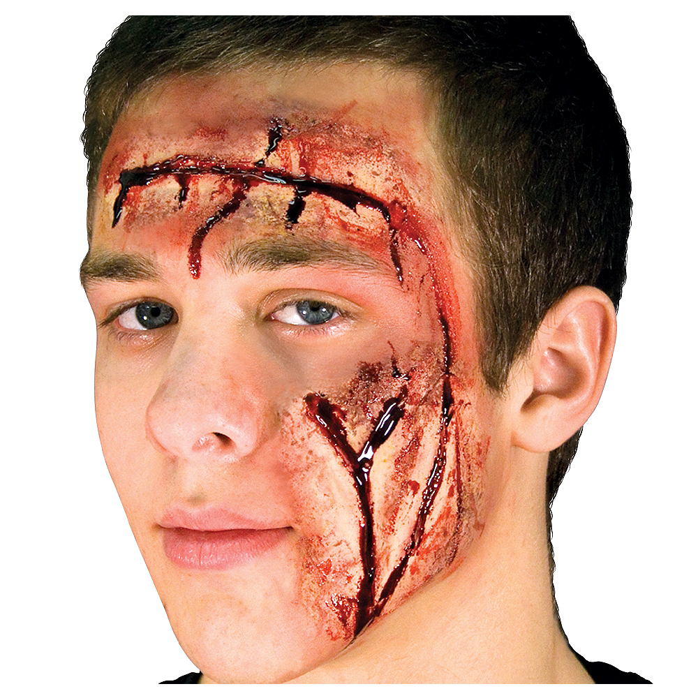 Face Cuts Prosthetics Image #1