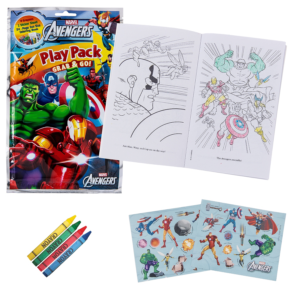 Nav Item for Avengers Activity Kit Image #1