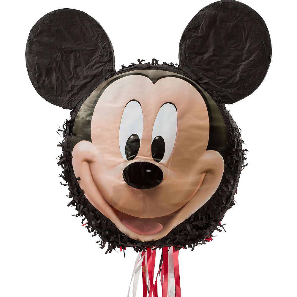 Nav Item for Pull String Smiling Mickey Mouse Pinata Image #1