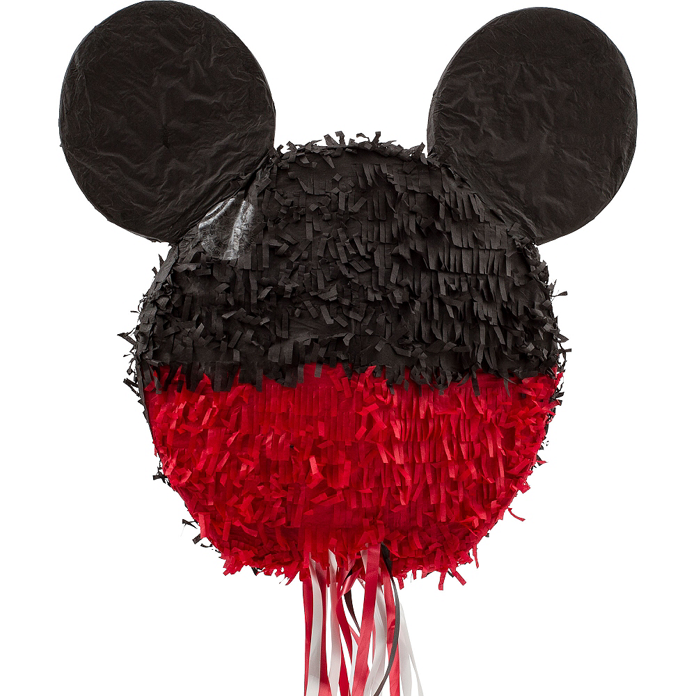 Nav Item for Pull String Smiling Mickey Mouse Pinata Image #2