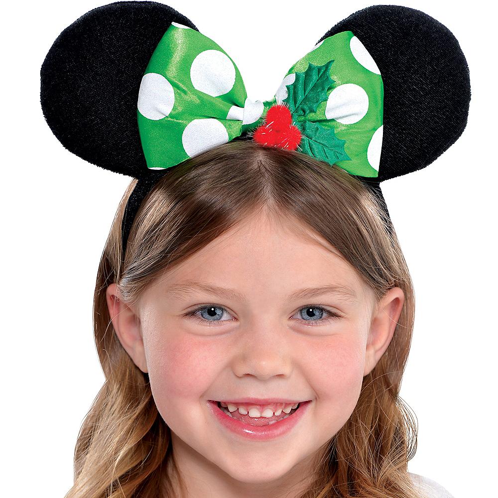 Child Holiday Minnie Mouse Headband Image #1