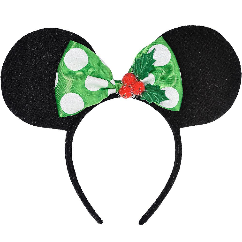 Child Holiday Minnie Mouse Headband Image #2