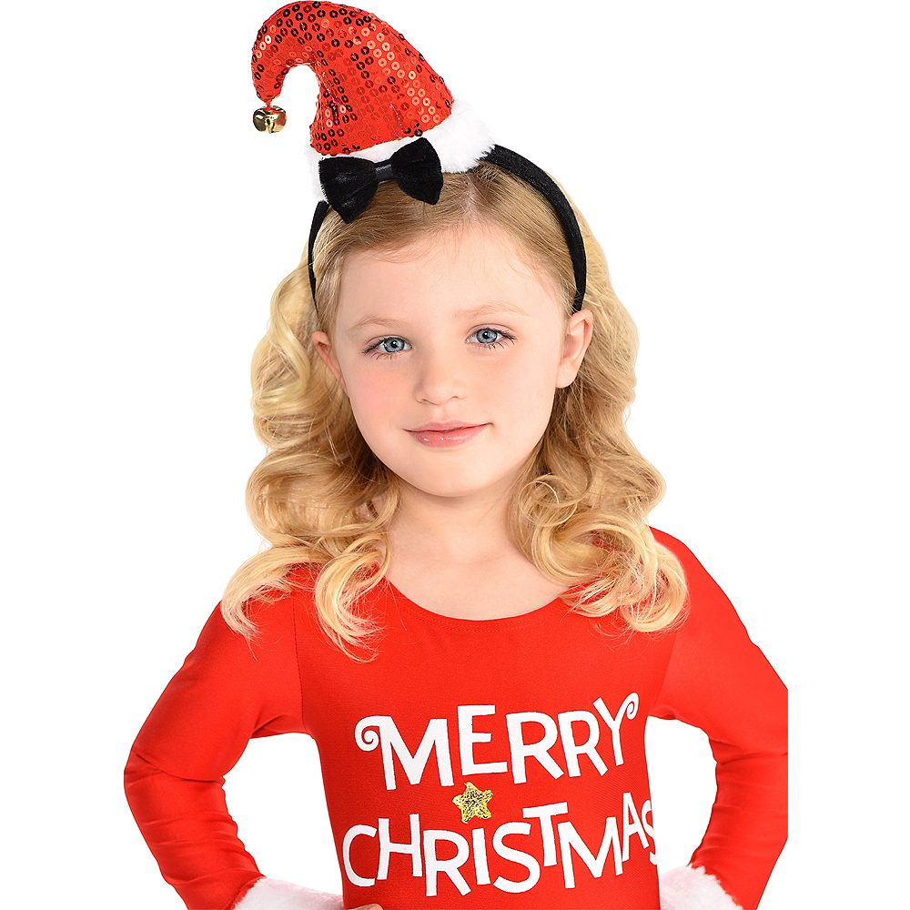 Child Santa Hat Headband Image #2