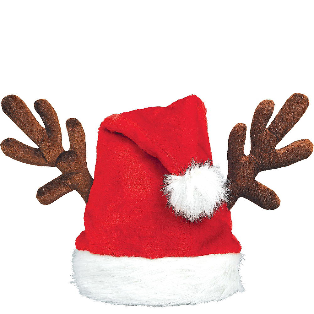 Antler Santa Hat Image #1