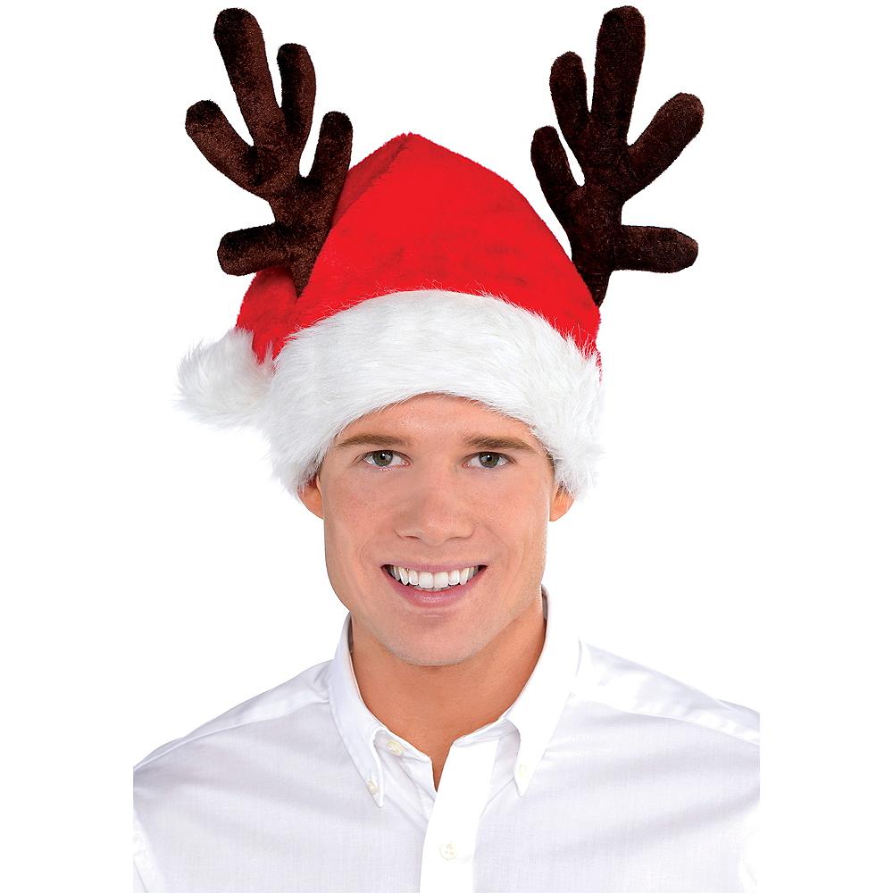 Antler Santa Hat Image #2