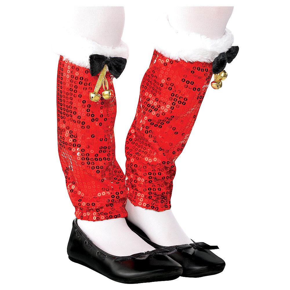 Child Santa Legwarmers Image #1