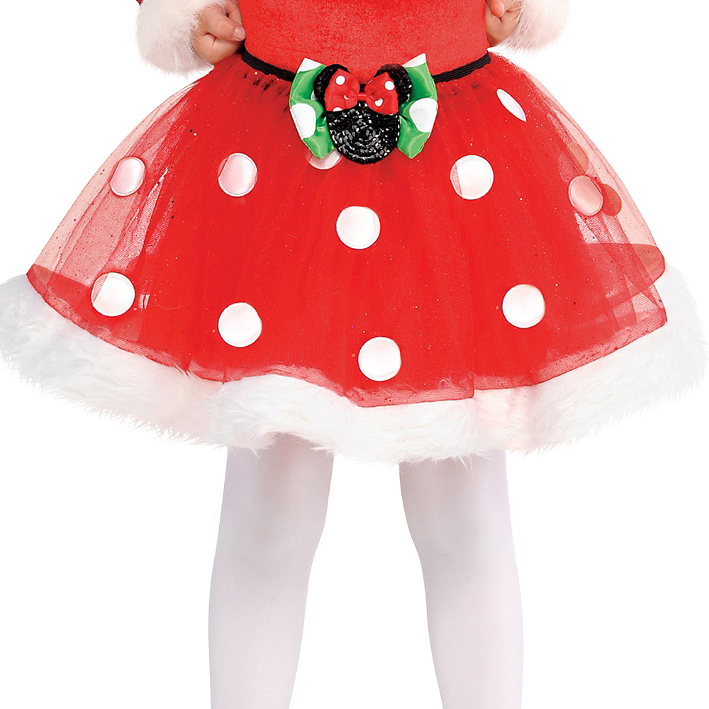 Nav Item for Child Holiday Minnie Mouse Tutu Image #1