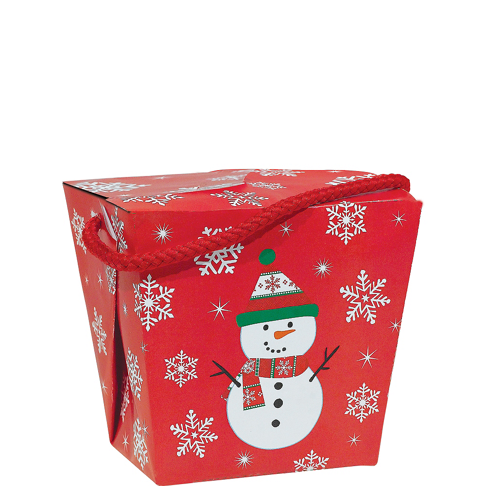 Snowman Favor Box Image #1