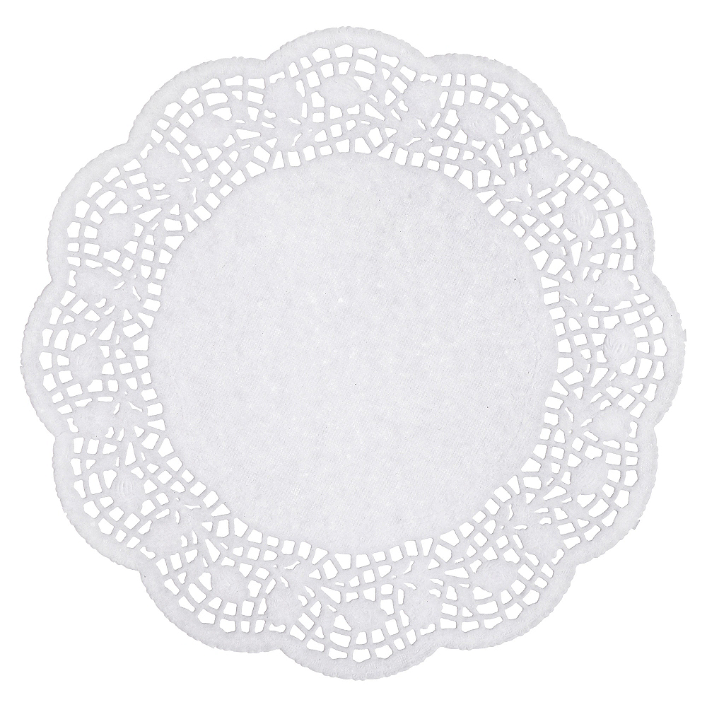 Holly Round Doilies 40ct Image #3