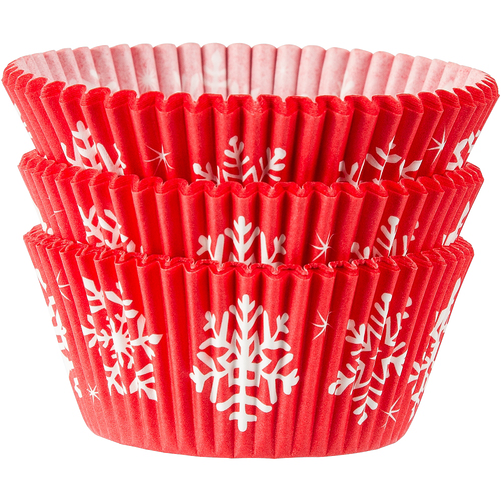 Nav Item for Snowman Baking Cups 75ct Image #1