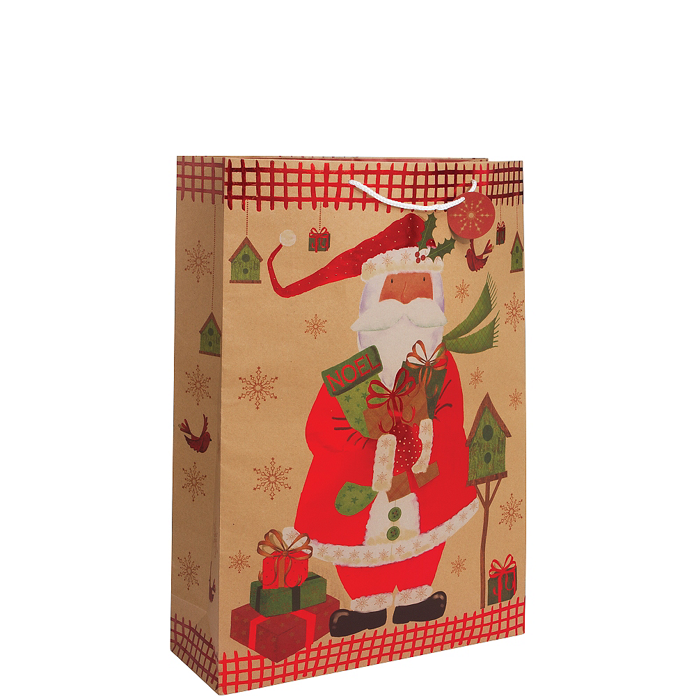 Nav Item for Santa Claus Christmas Gift Bag Image #1