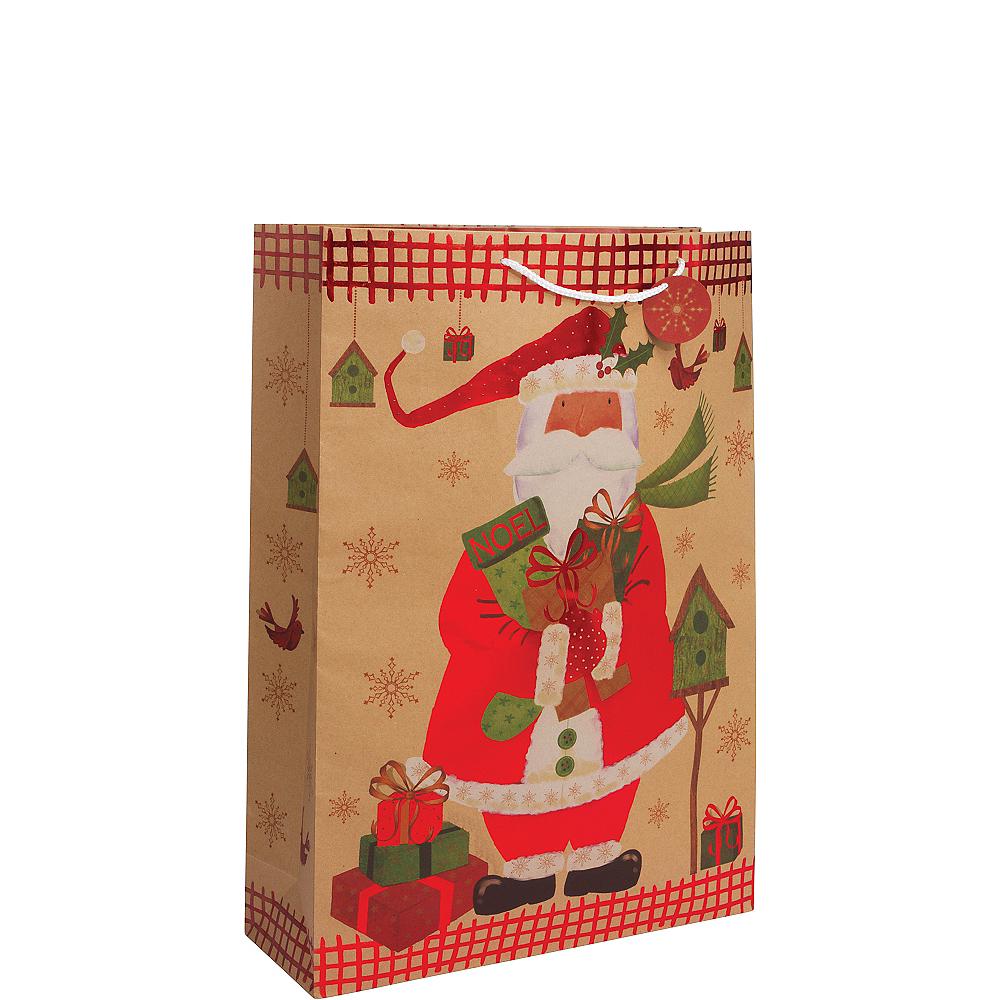 Santa Claus Christmas Gift Bag Image #1