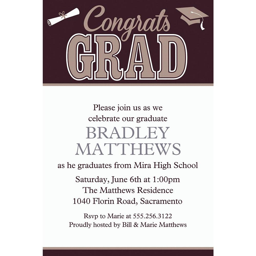 Custom Graduating Class Invitations  Image #1