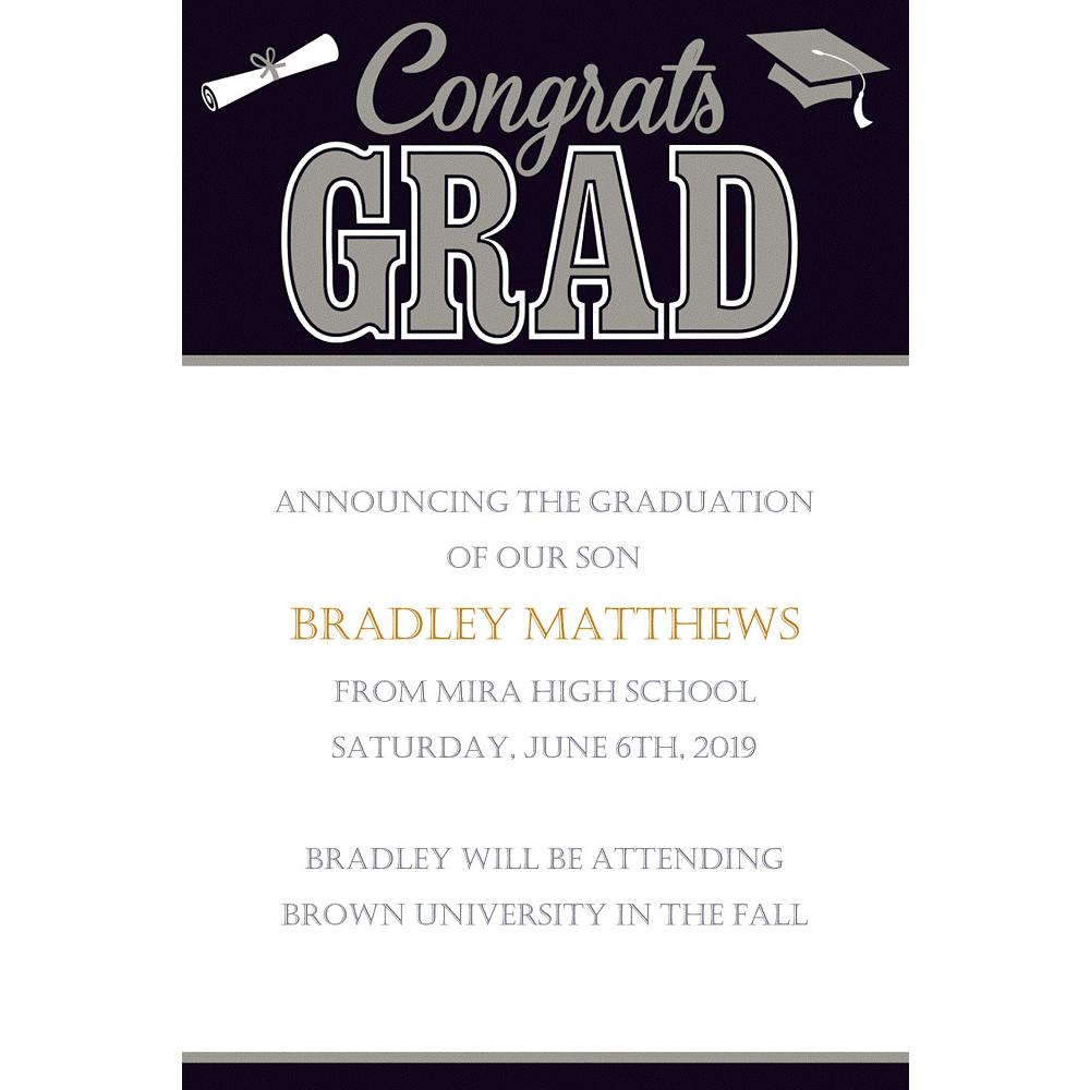 Custom Graduating Class Announcements  Image #1