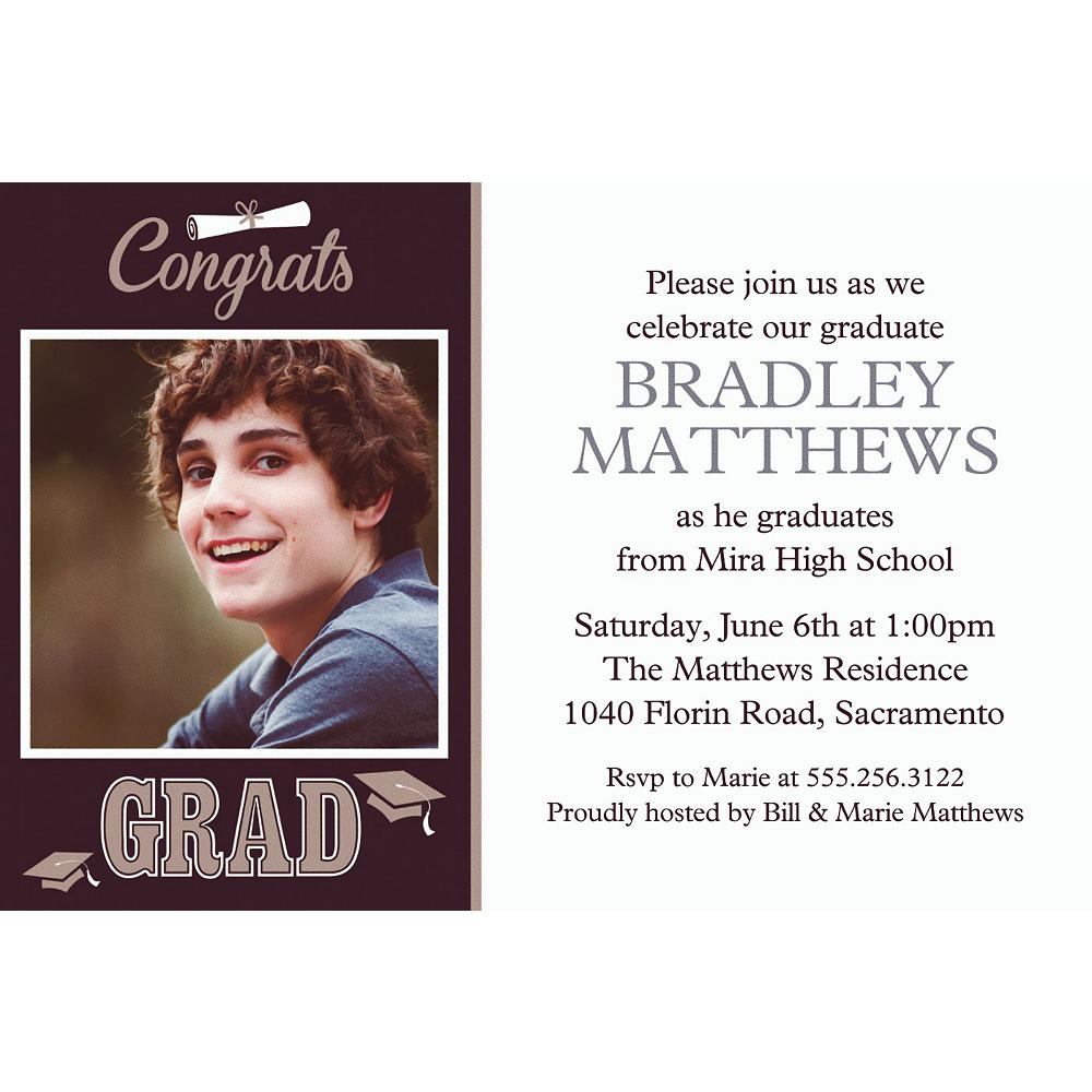 Custom Graduating Class Photo Invitations  Image #1