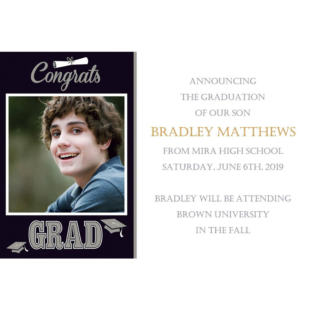 Custom Graduating Class Photo Announcements  Image #1
