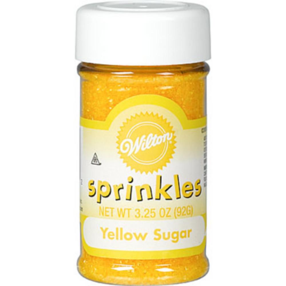 Wilton Yellow Sugar Sprinkles Image #1