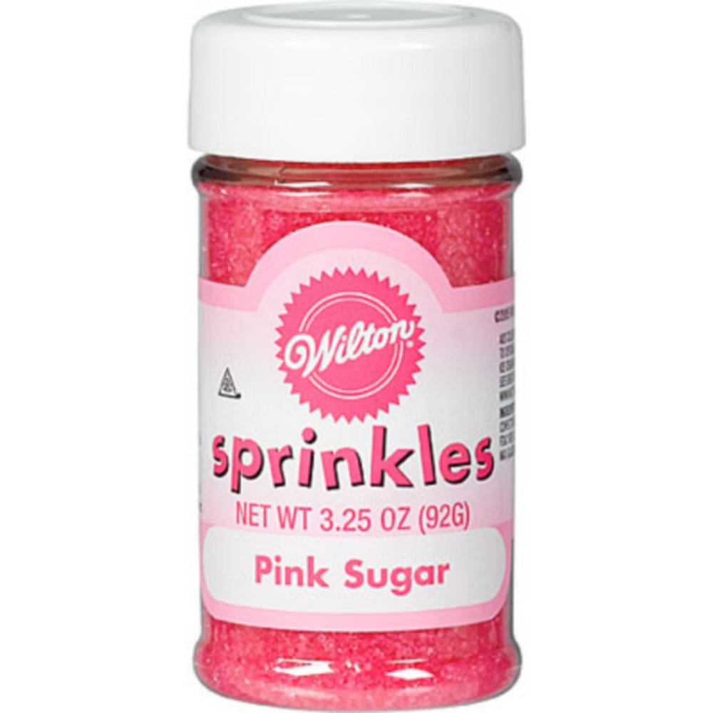 Wilton Pink Sugar Sprinkles Image #1