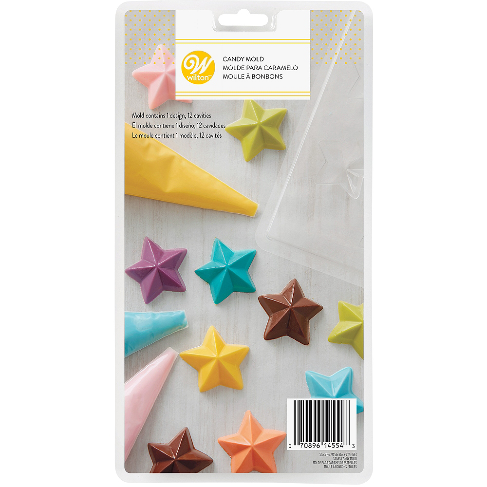 Nav Item For Wilton Star Candy Mold Image 2