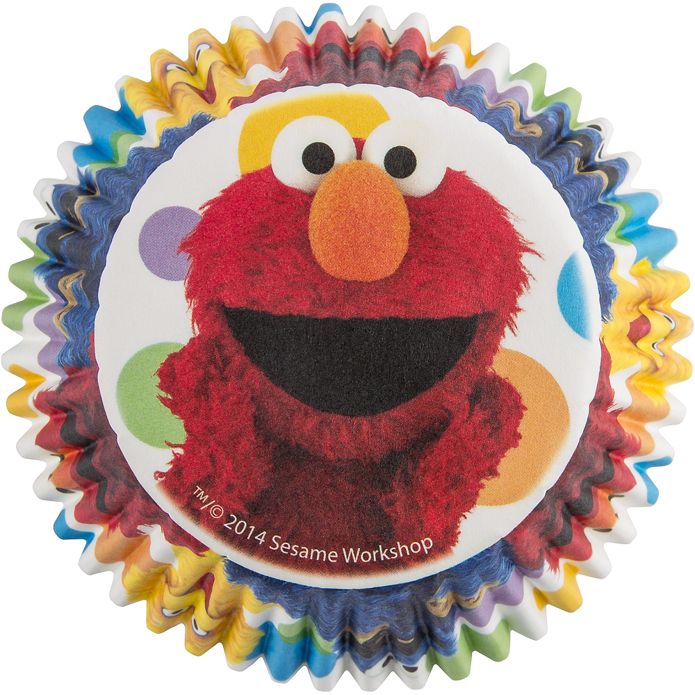 Nav Item for Wilton Sesame Street Baking Cups 50ct Image #2