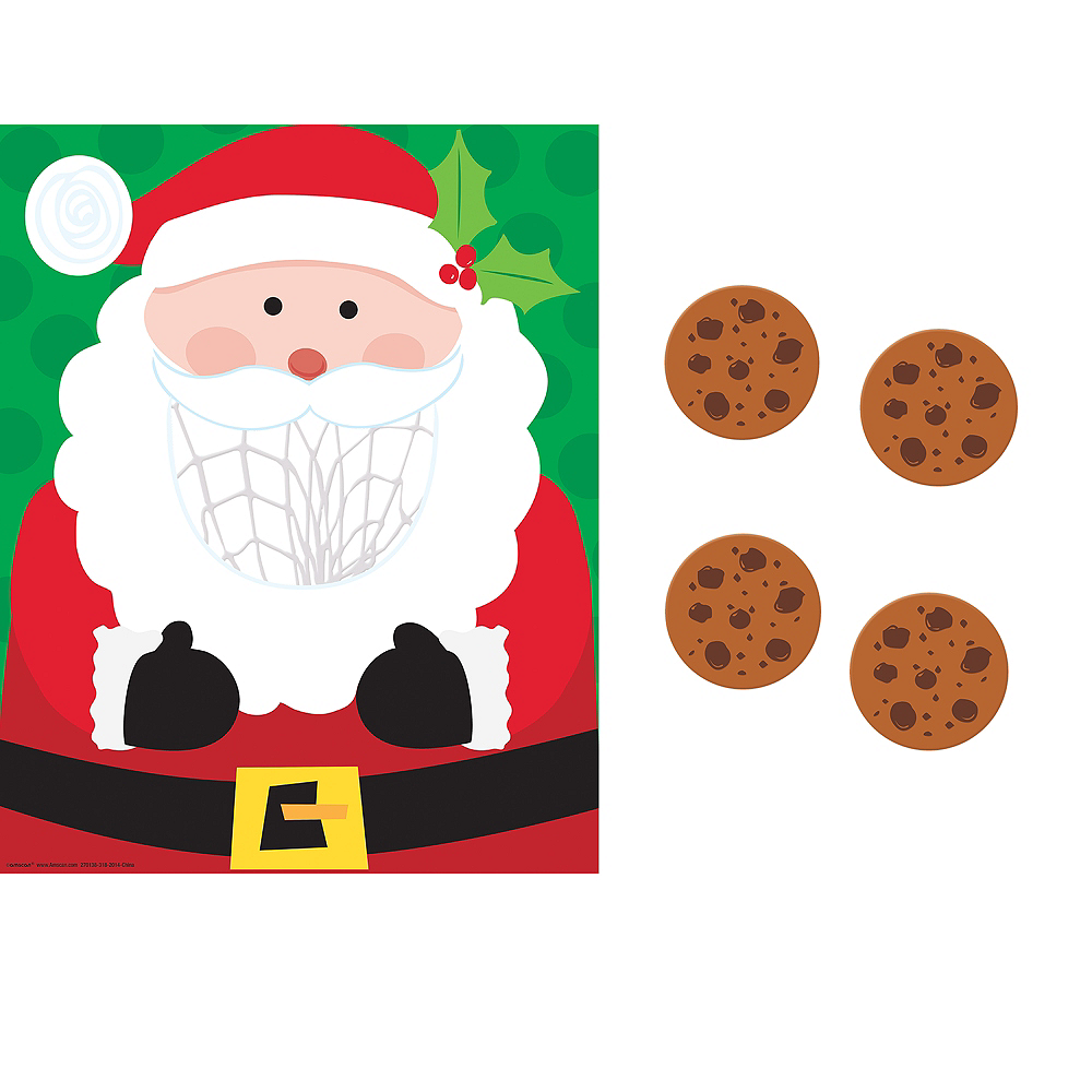 Santa Cookie Toss Game Image #1