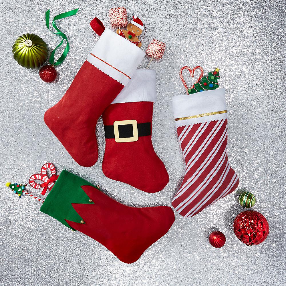 Jingle Bell Christmas Stocking Image #2