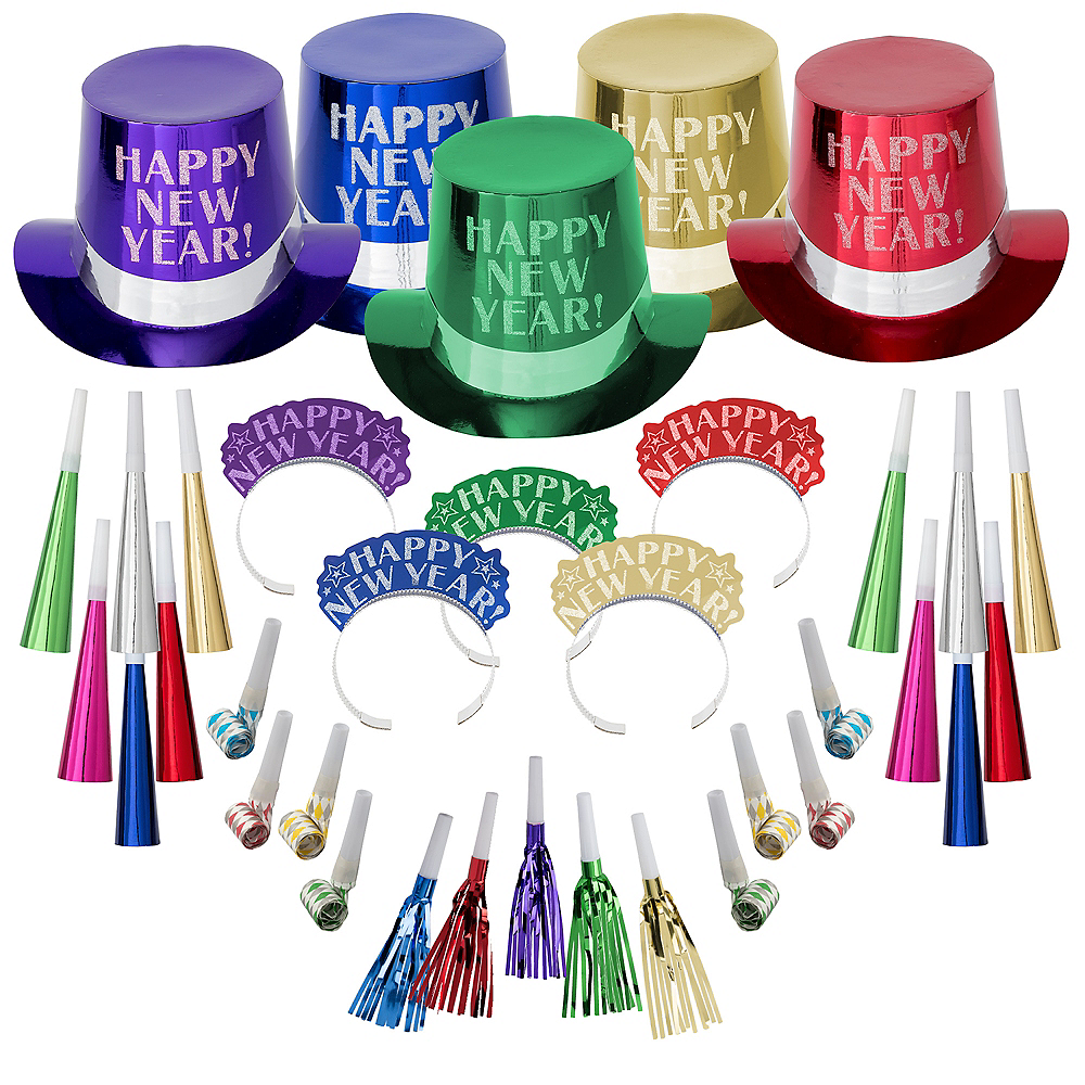 Kit For 100 - Colorful Opulent Affair New Year's Party Kit Image #1