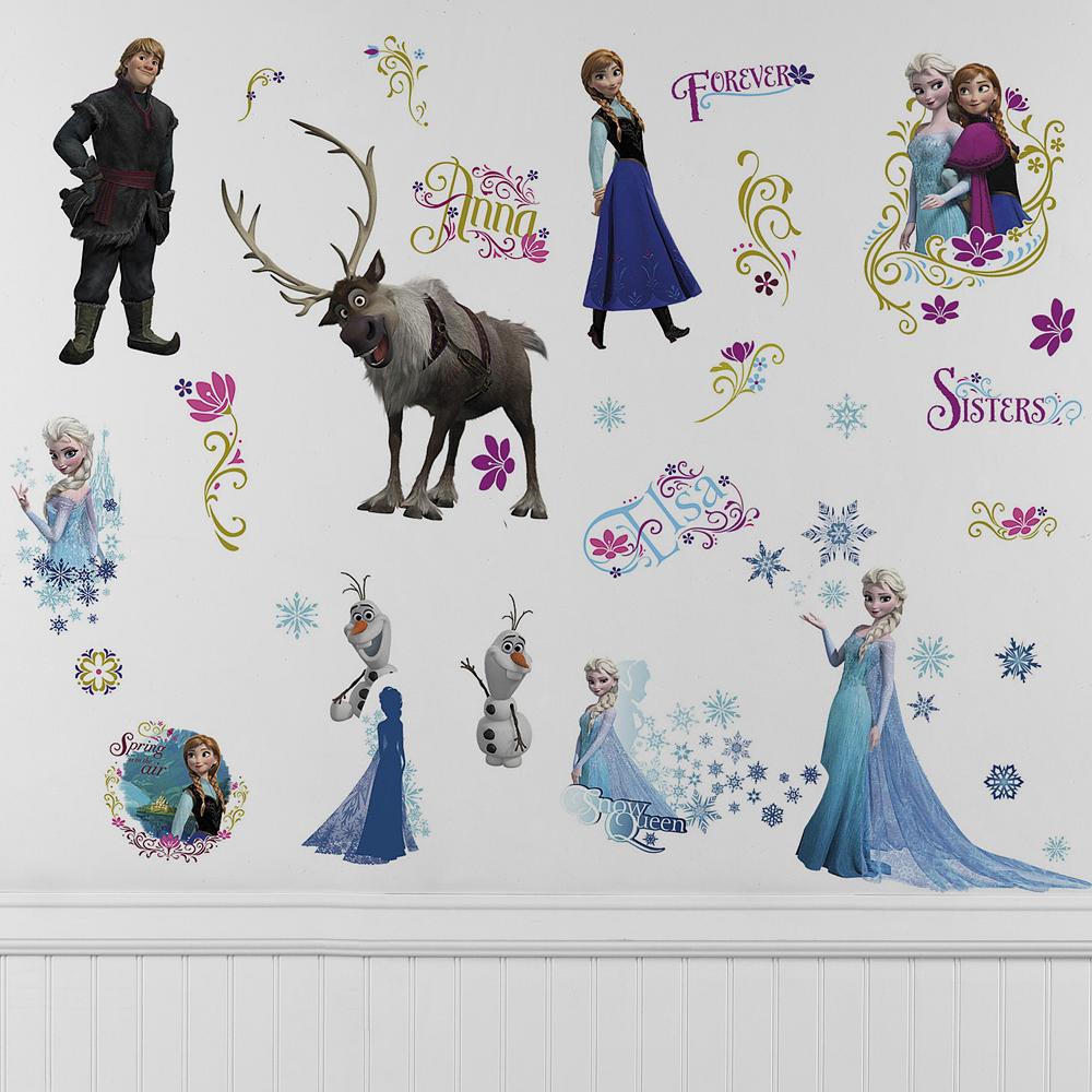Frozen Wall Decals Image #1