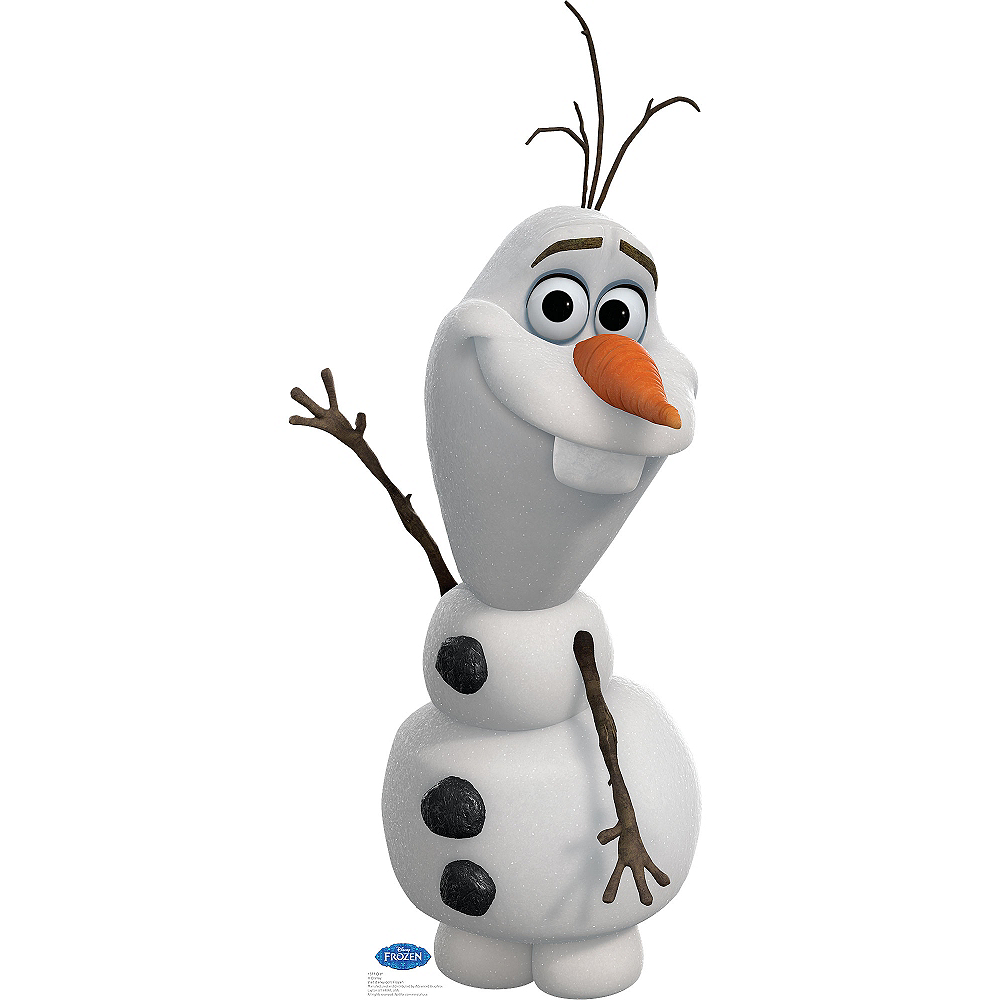 Olaf Life Size Cardboard Cutout - Frozen Image #1