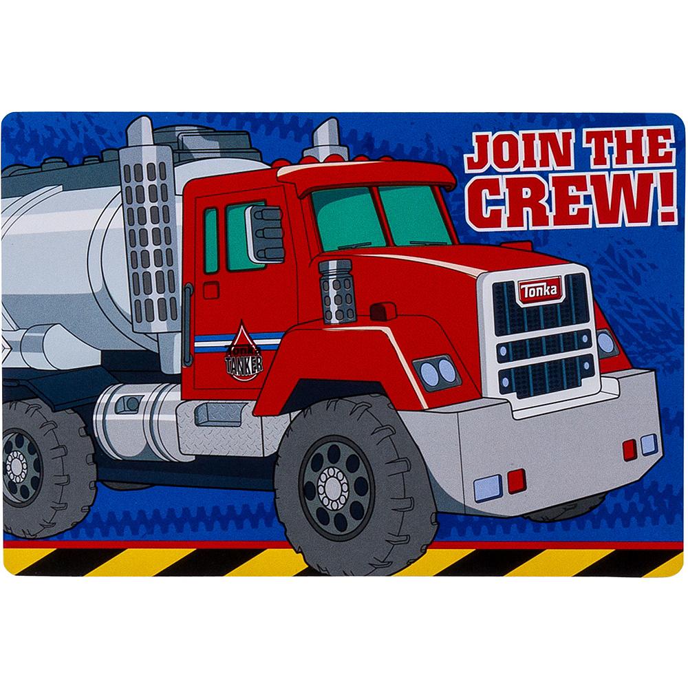 Tonka Truck Invitations 8ct Image #1