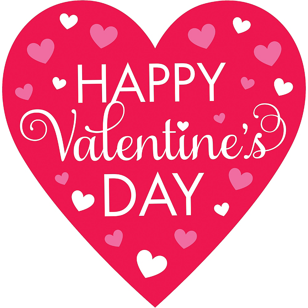 Happy Valentine's Day Cutout Image #1
