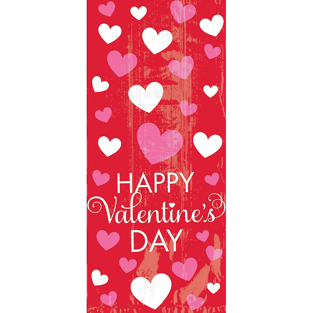 Bright Valentine's Day Treat Bags 20ct Image #1