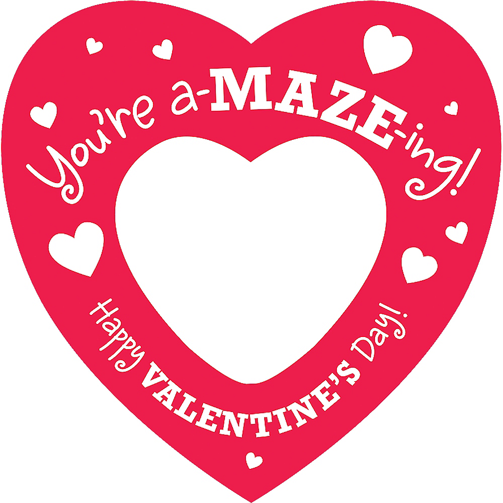 Valentine Cards with Maze Puzzles 12ct Image #3