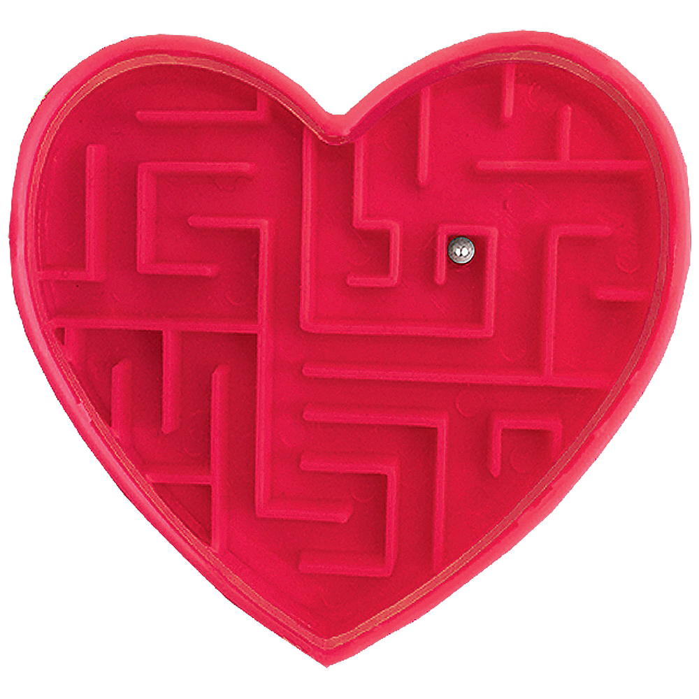 Valentine Cards with Maze Puzzles 12ct Image #4