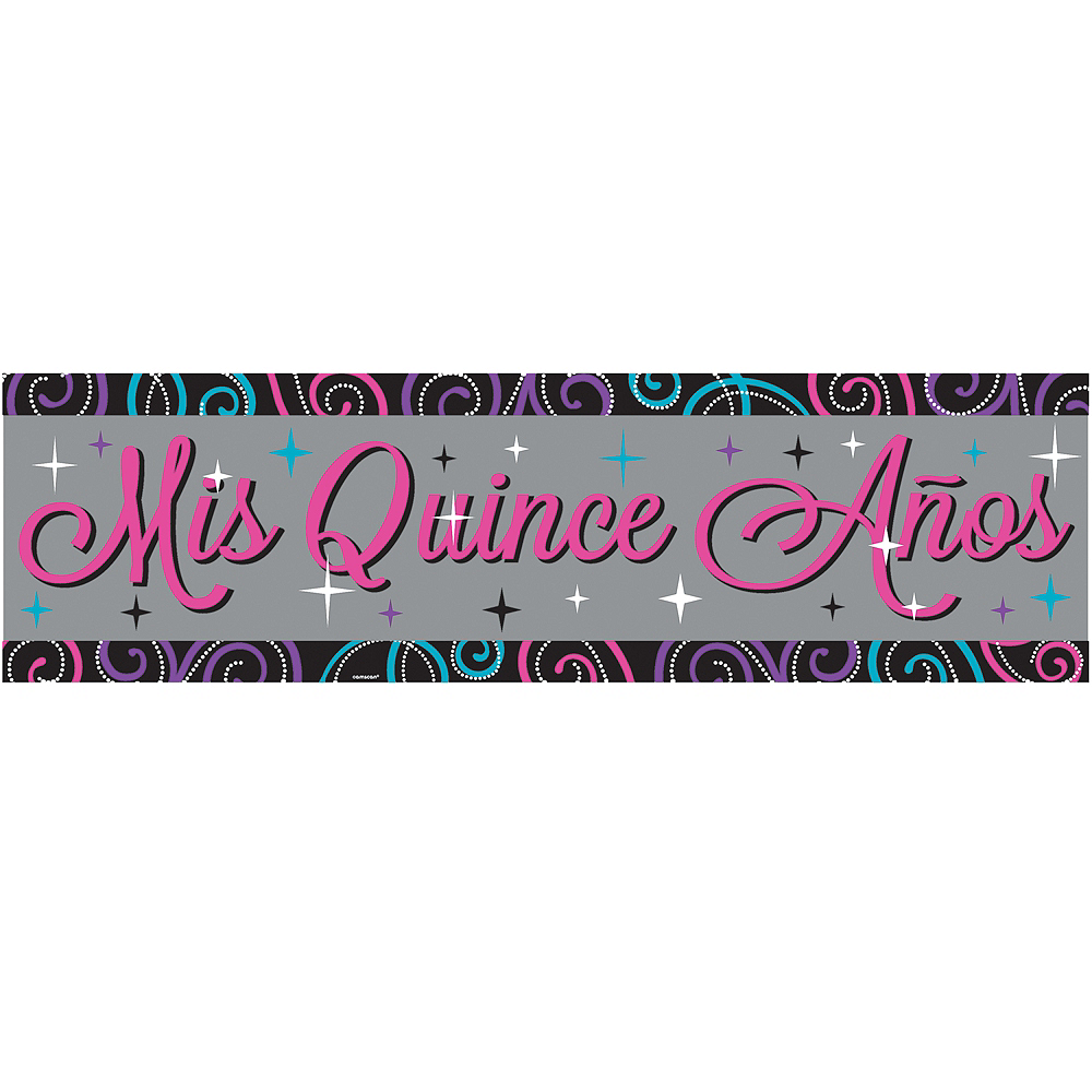Mis Quince Quinceanera Banner Image #1
