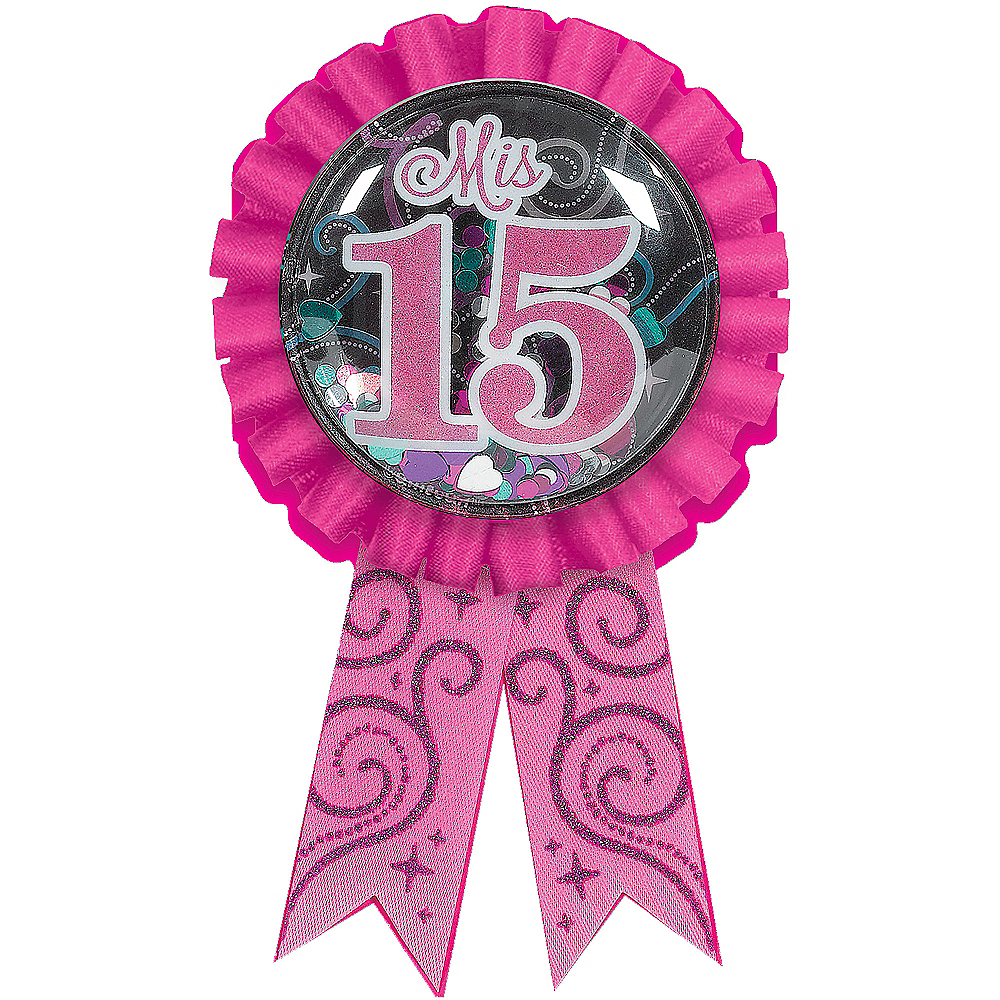 Mis Quince Quinceanera Award Ribbon Image #1